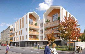 Lyon Decines Résidences neuves avec beaucoup de balcons