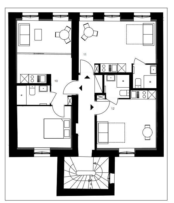 Achat appartement Lyon 7. Plan intérieur appartement