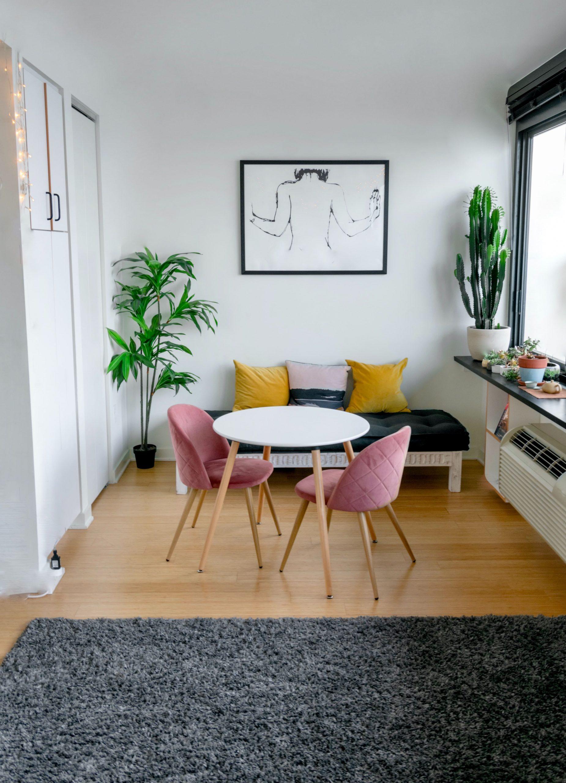 investissement à Lyon en 2021-séjour-table