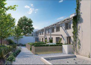 immobilier villefranche-residence neuve jardins espaces verts ciel bleu