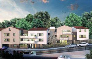 investir-residence neuve arbres voitures ciel bleu
