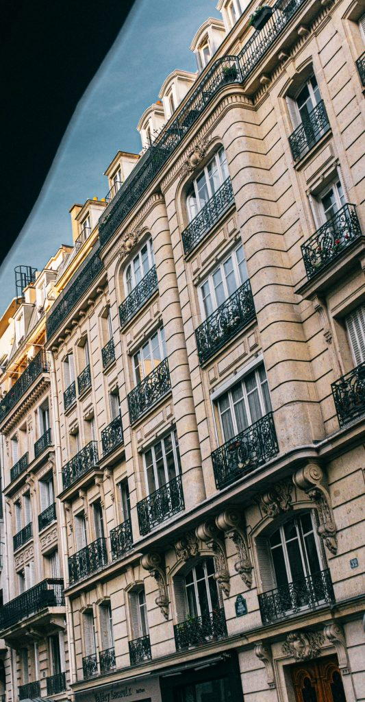 rentabilité immobilière- facade immeuble ancien