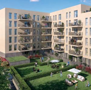 appartement a vendre-résidence neuve jardins habitants ciel bleu